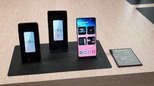 Les nouveaux Samsung Galaxy S10.