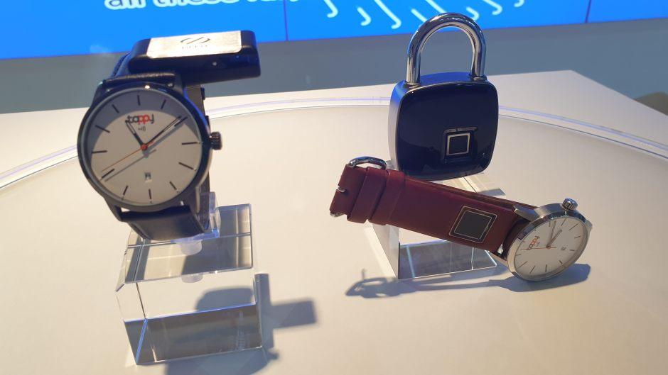 Sécuriser ses paiements avec un scanner digital sur le bracelet.
