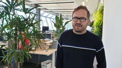 Le CEO d'Infomaniak, Boris Siegenthaler.