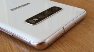 Samsung Galaxy S10+: le système optique.