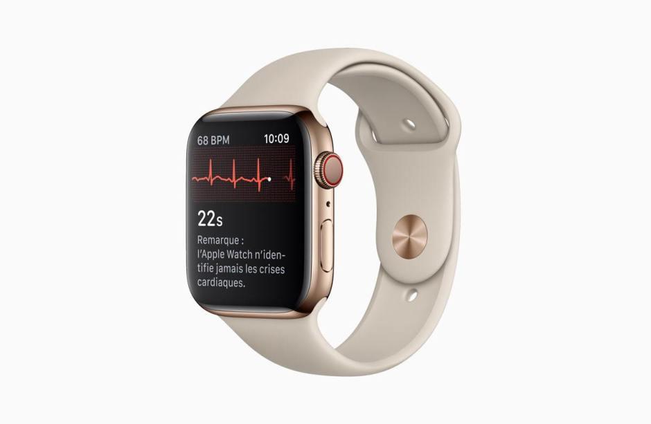 Apple Watch series 4 permet désormais de faire des électrocardiogrammes en Suisse aussi.