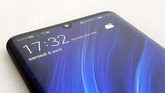 Le design du Huawei P30 Pro.