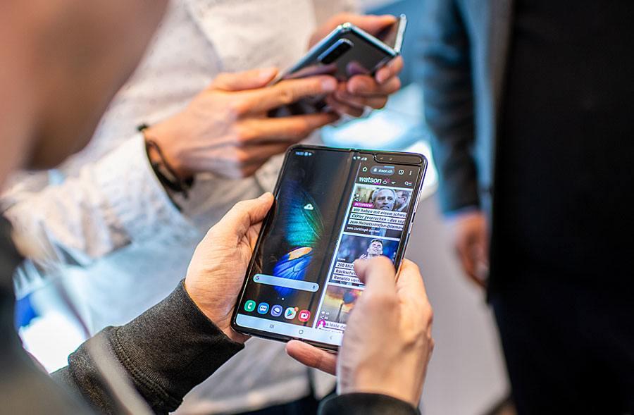 Samsung a orchestré une opération d'envergure pour lancer son Galaxy Fold.