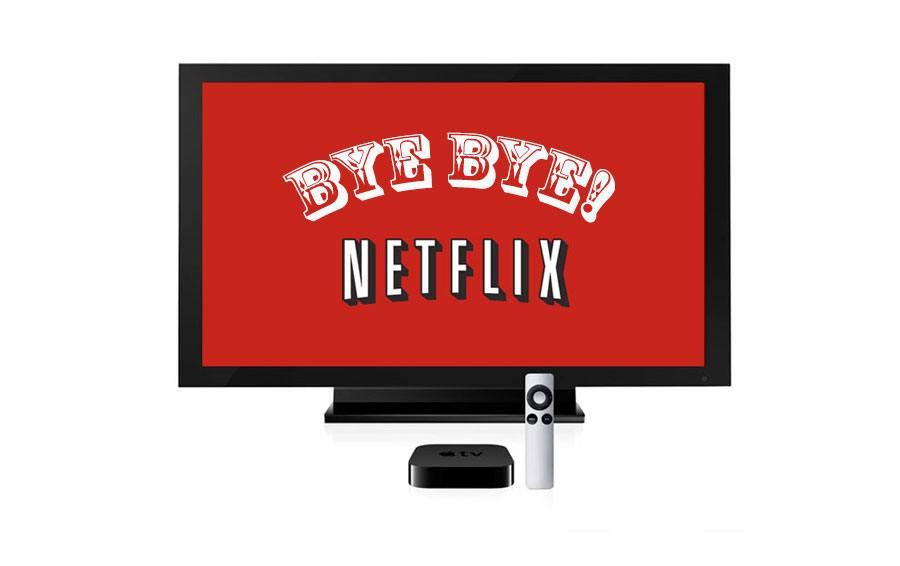 Tarification inadaptée: bye bye Netflix!