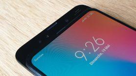 Le Xiaomi Mi Mix 3 5G et son double capteur photo avant.