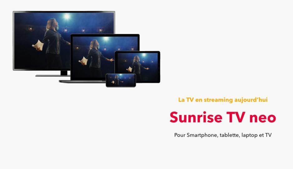 Sunrise TV neo et l'Apple TV 4K...