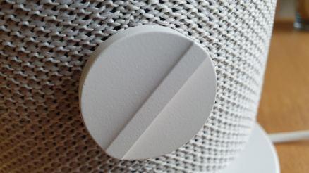 Ikea Symfonisk: l'interrupteur pour la lumière.