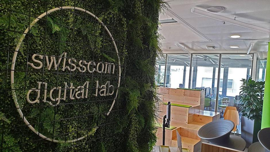 Le Swisscom Digital Lab de l'EPFL.
