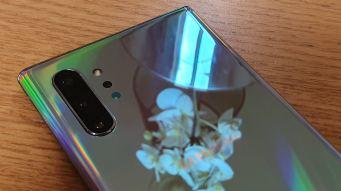 Samsung Galaxy Note 10+: très brillant...