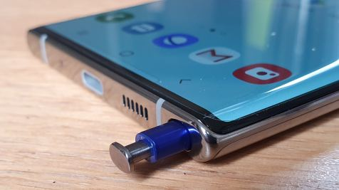 Samsung Galaxy Note 10+: le stylet.