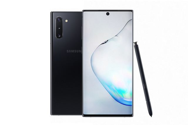 Le Samsung Galaxy Note 10.