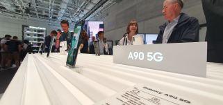 Galaxy A90: le 5G abordable de Samsung.