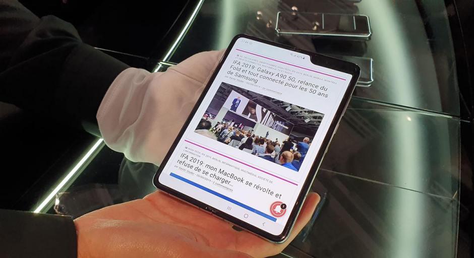 Le Samsung Galaxy Fold revu...