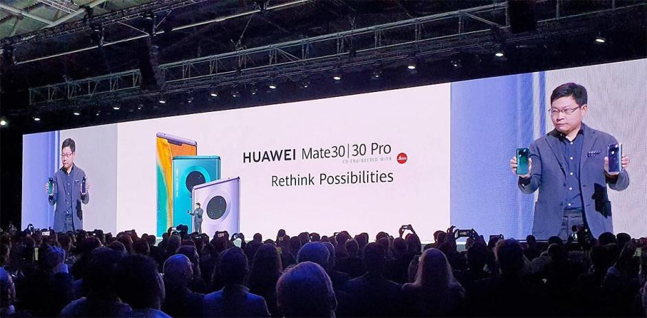 Hawei a lancé ses Mate 30 et Mate 30 Pro à Munich.