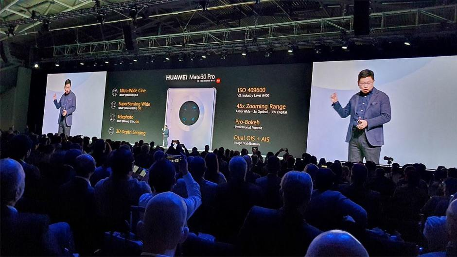 Les caractéristiques photo du Huawei Mate 30 Pro.