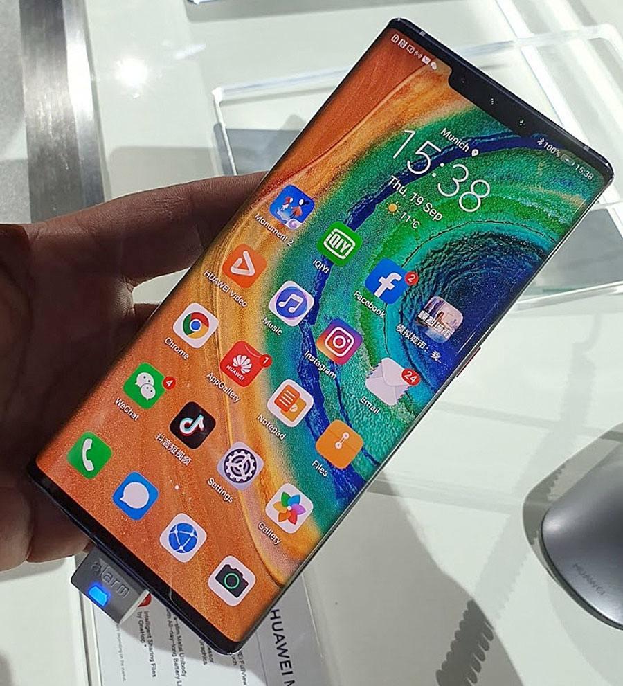 Première prise en mains du Huawei Mate 30 Pro!