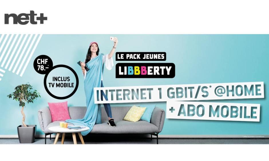 Net+ lance le pack Jeunes Liberty, compatible Apple TV.