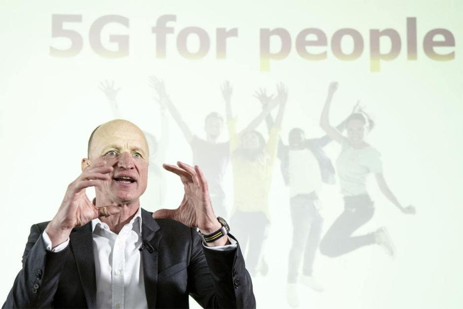 Olaf Swantee, CEO de Sunrise, se voit déjà avaler UPC. Au prix fort.