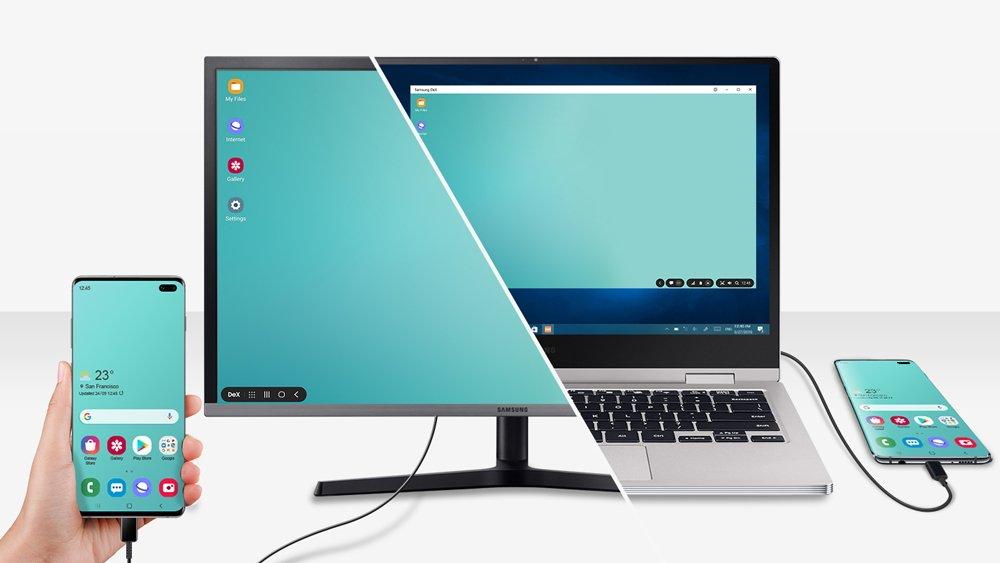 Un air de Samsung Note 10 pour les Galaxy S10...