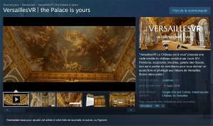 Google vous offre Versailles en réalité virtuelle! Enfin presque…