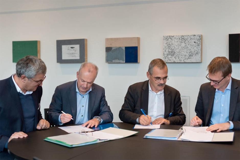 Swisscom collabore de nouveau avec Fribourg sur la fibre optique.