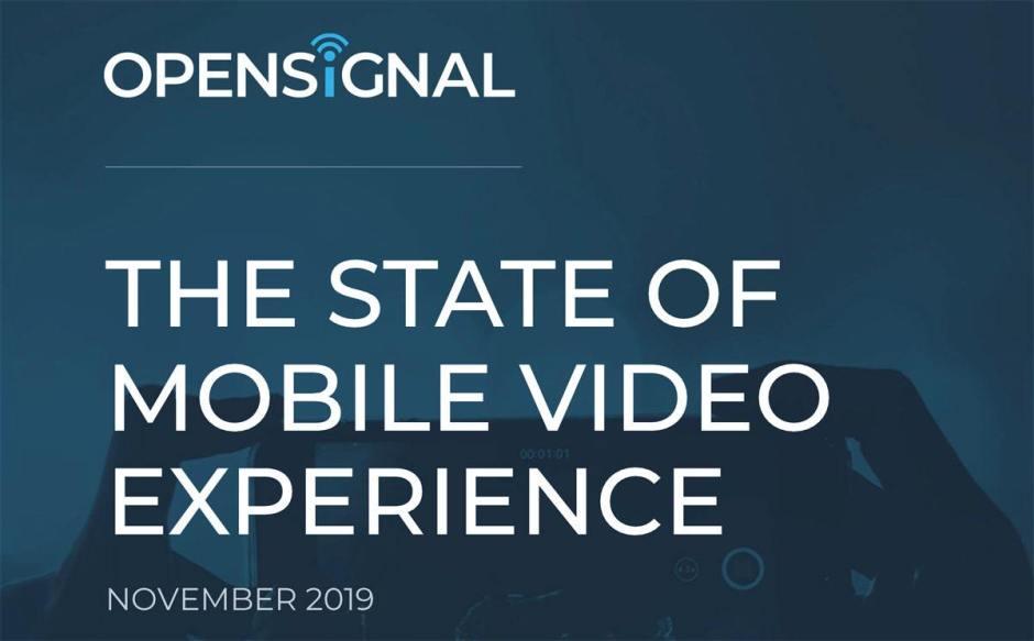 Opensignal s'est intéressé à l'expérience vidéo des mobinautes.