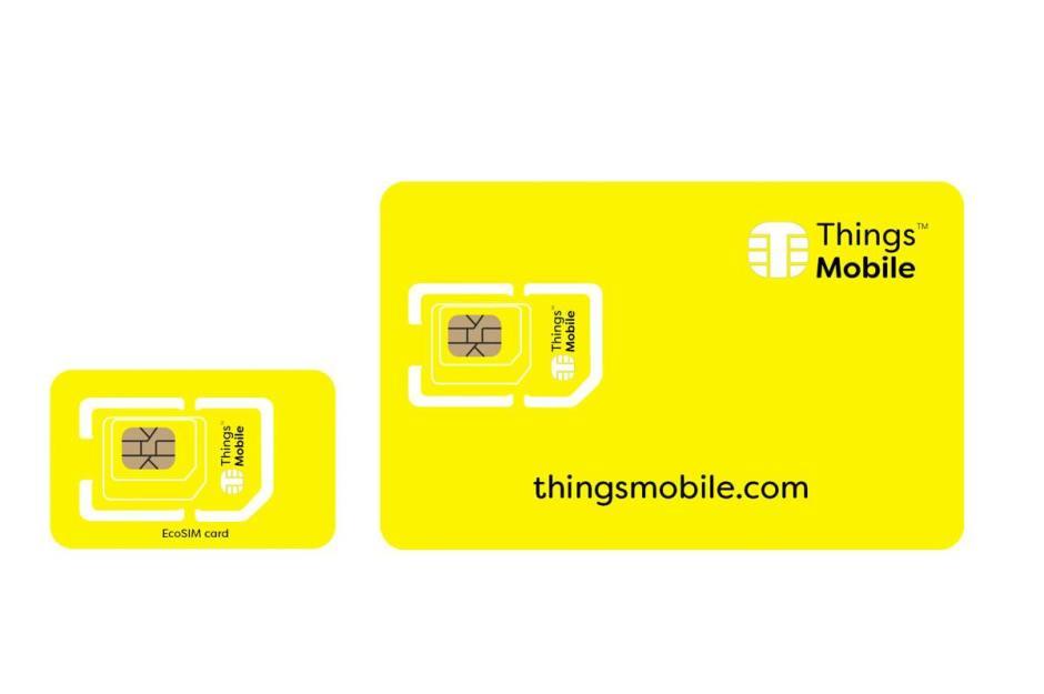 Moins de plastique pour la carte SIM de Thingsmobile.