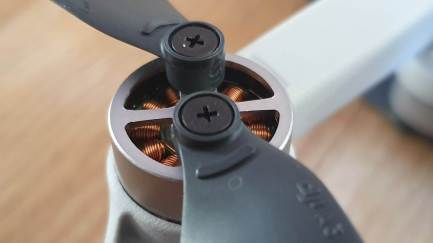 DJI Mavic Mini: les moteurs «brushless».