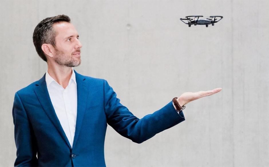 Mirko Kovac, Directeur du nouveau Centre de Matériaux et Technologie de la Robotique. Image: Robert Stürmer, Empa.