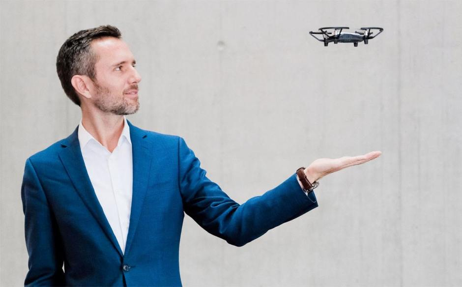 Mirko Kovac, Directeur du nouveau Centre de Matériaux et Technologie de la Robotique de l'Empa. Image: Robert Stürmer, Empa.