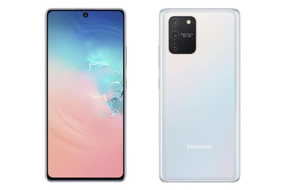 Le Galaxy S10 Lite est disponible en «Prism White», «Prism Black» et «Prism Blue» à 649 francs.