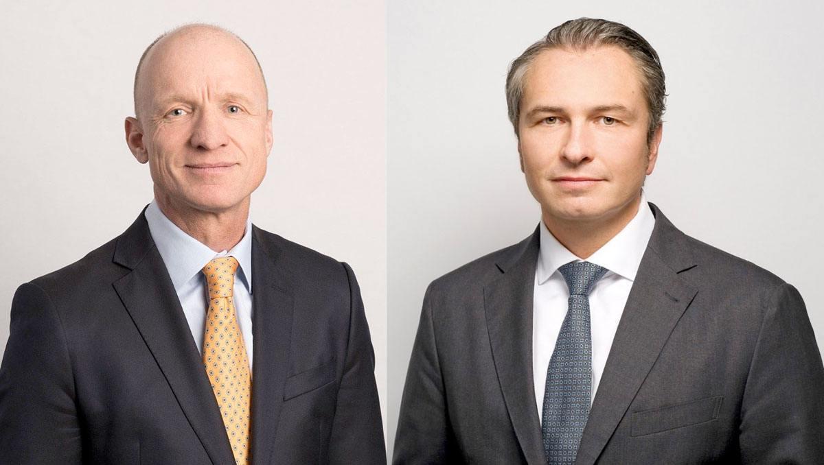 Olaf Swantee est remplacé par André Krause, à droite, à la tête de Sunrise.