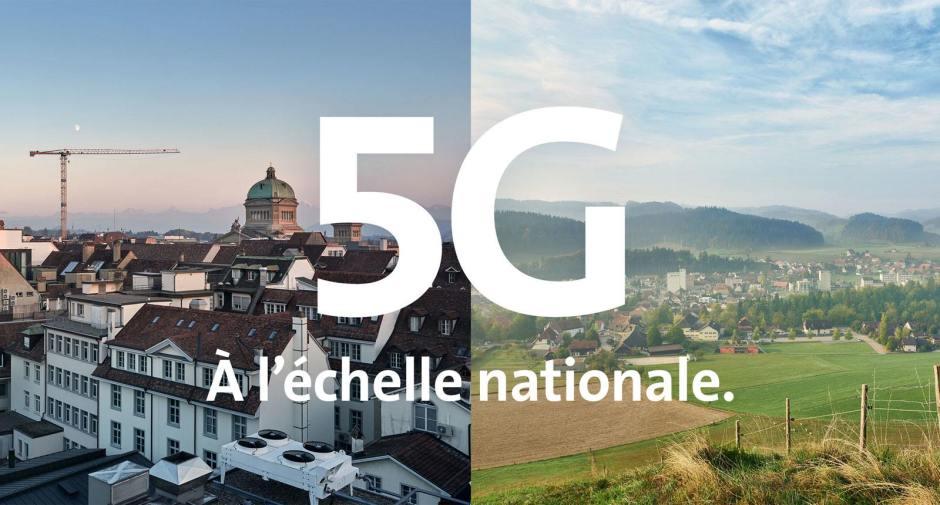 La 5G Wide de Swisscom ne fait pas (encore?) des étincelles.