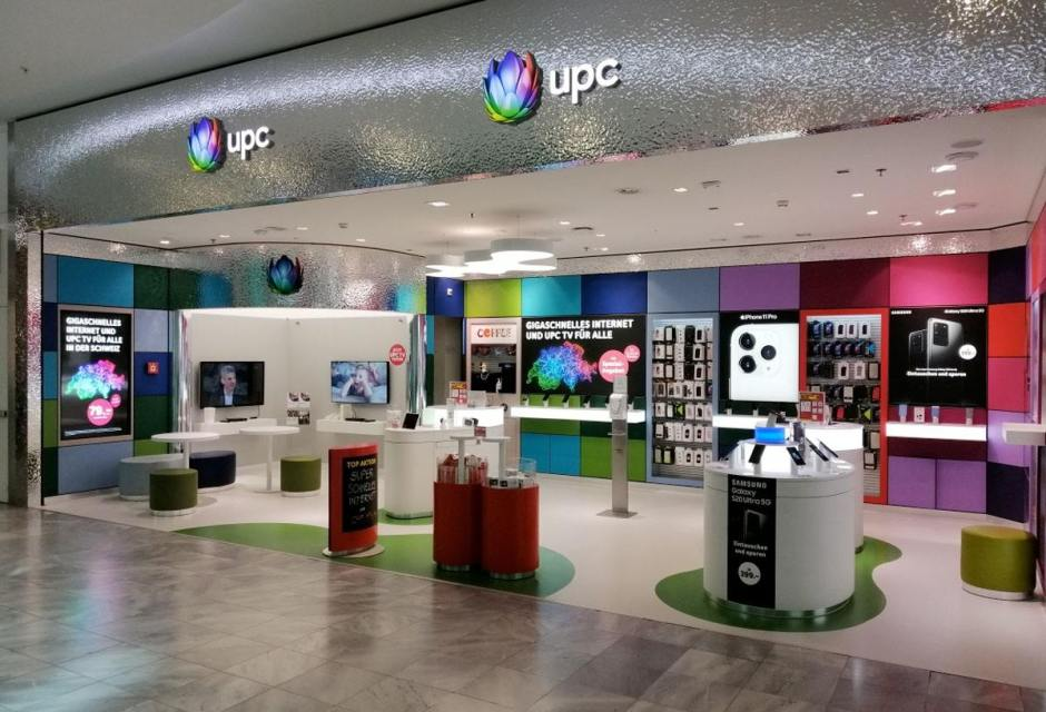 Le magasin UPC du Glattzentrum.