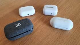 Les Sennheiser Momentum True Wireless 2 et quelques concurrents.