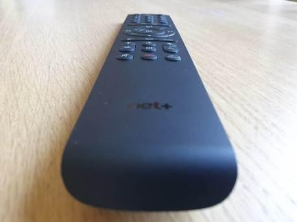 Boîtier TV Android de Net+: la télécommande.