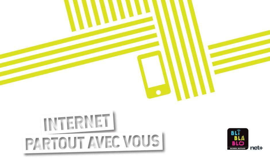 Net+ lance les nouveaux abonnements MobiSurfer.
