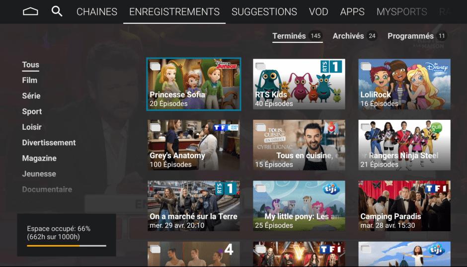 Boîtier TV Android de Net+: une interface agréable.