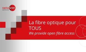 Télécoms: Swiss4net vise plus de 200'000 prises fibre optique en Suisse