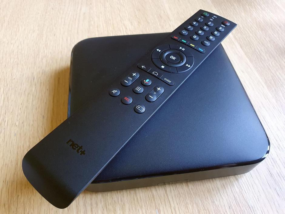 Le dernier boîtier TV de Net+ UHD associé à la puissance de l'Assistant Google.