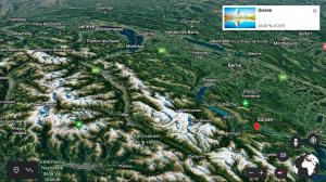 Les banques cantonales signent avec Swisscom et quinze ans de Google Earth!