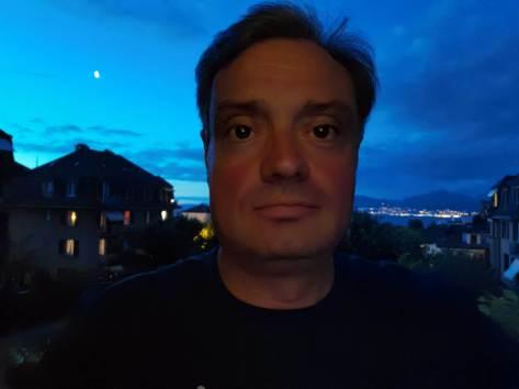 Huawei P40 Pro+: selfie nocturne.