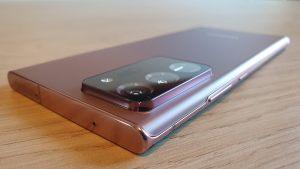 Prise en main du Samsung Note20Ultra 5G: premières impressions, début du test