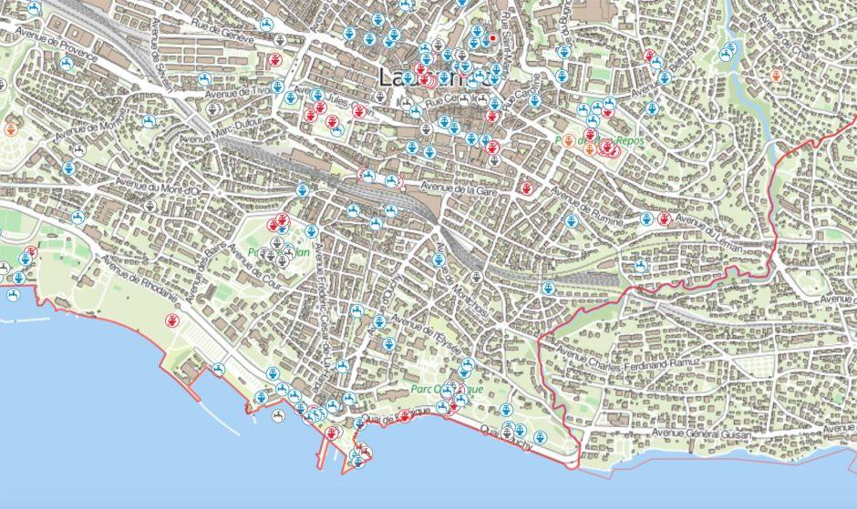 Quelque 330 fontaines à Lausanne. Mais combien sont fermées ou non potables?