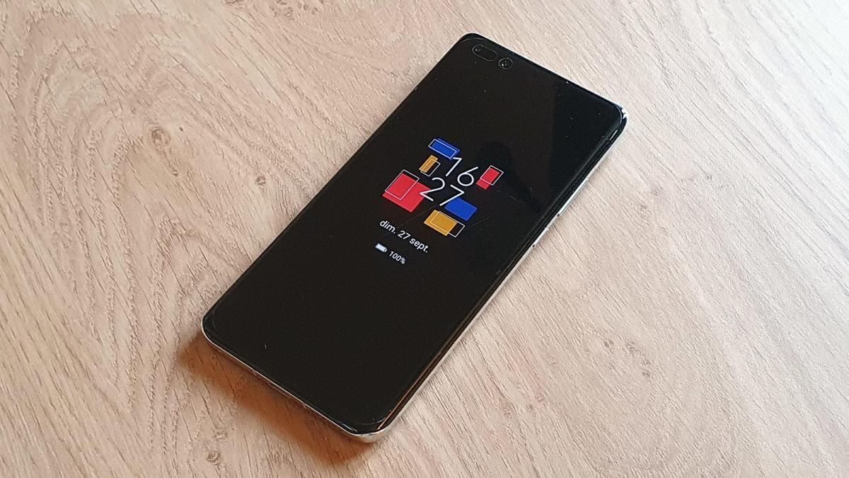 La surcouche EMUI 11 de Huawei sur Android 10.