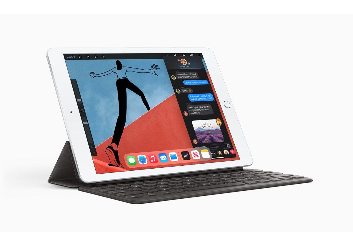 L'iPad de huitième génération.