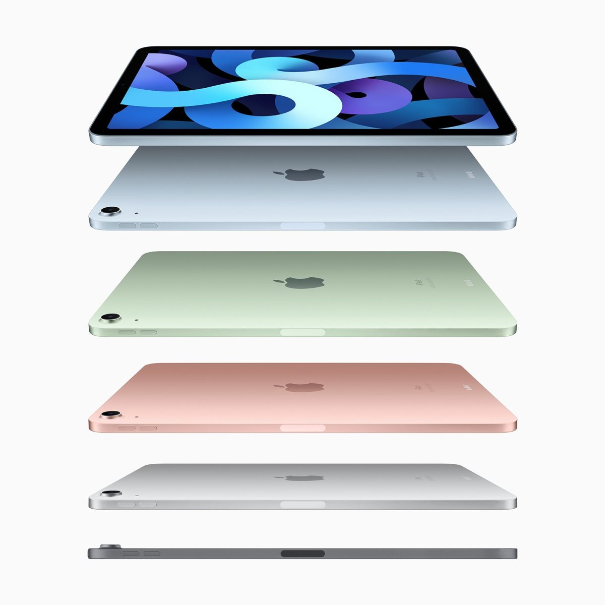 Le nouvel iPad Air, quatrième du nom.