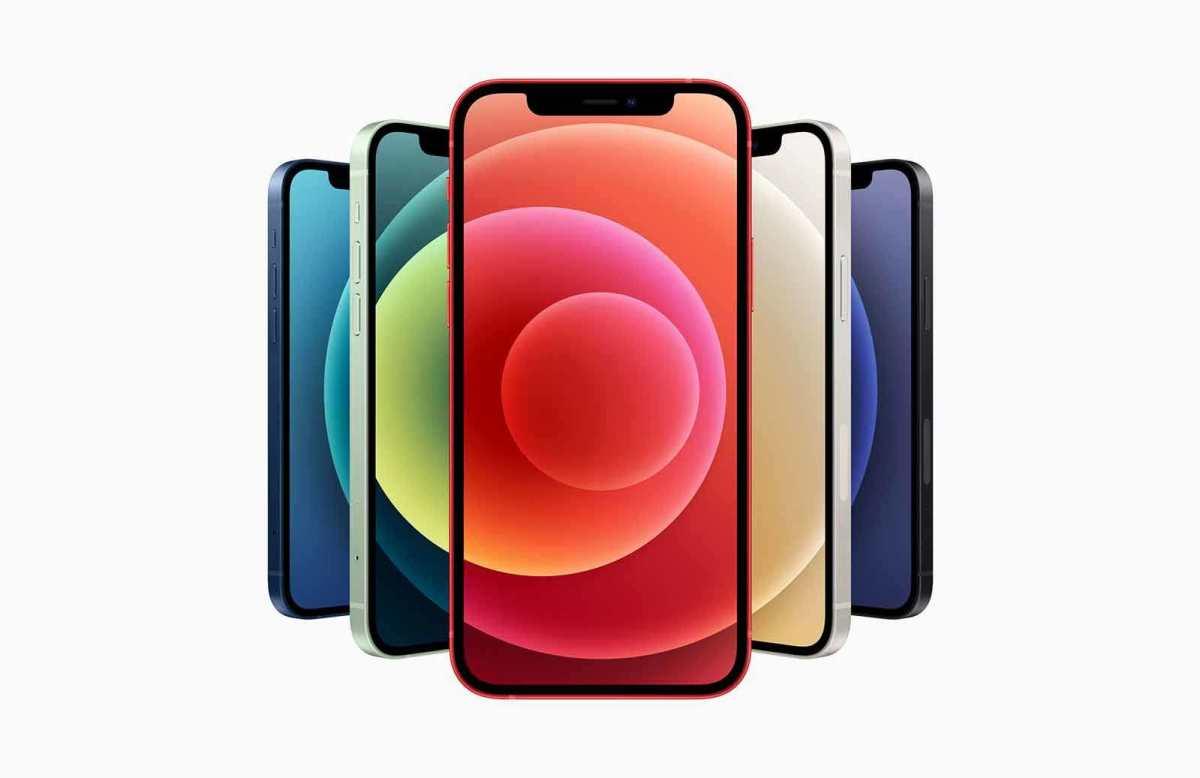 Les nouveaux iPhone 12, compatibles 5G.