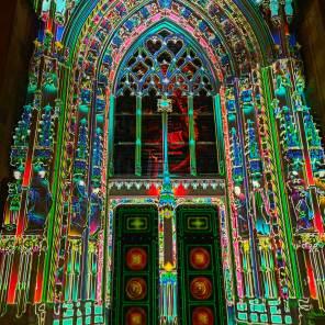 Huawei Mate 40 Pro: la cathédrale version Lausanne Lumières 2020.