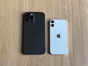 Test des iPhone 12 mini et iPhone 12 Pro Max: lorsque les extrêmes se rejoignent!